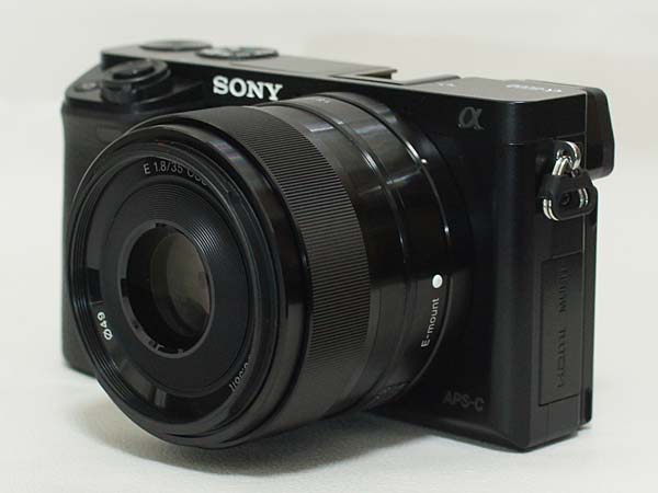 SONY E 35mm F1.8 OSS SEL35F18